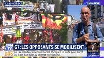 À Hendaye, la grande manifestation anti-G7 s'est élancée