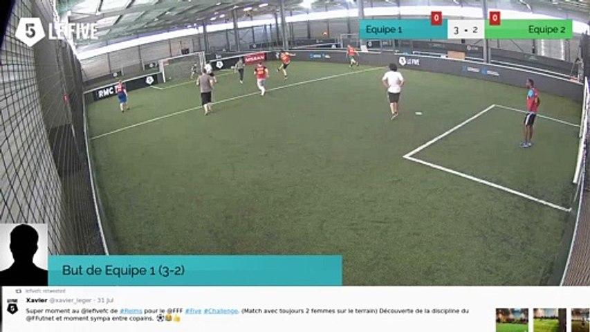 But de Equipe 1 (3-2)
