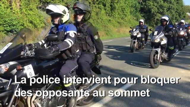 G7 à Biarritz : 17 interpellations, 4 policiers légèrement blessés