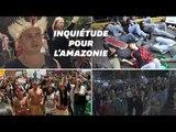 Face à l'Amazonie en feu, l'Amérique latine et l'Europe défilent