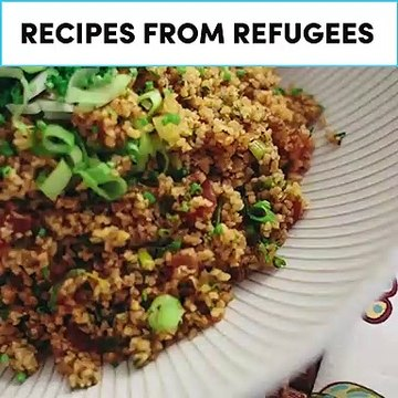 Recipes from refugees