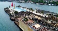 Dursun Özbek'in haciz işlemi başlattığı Galatasaray Adası kaderine terkedildi