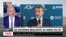 Emmanuel Macron aux Français : «nous devons répondre à l'appel de l'océan et de la forêt qui brûle»