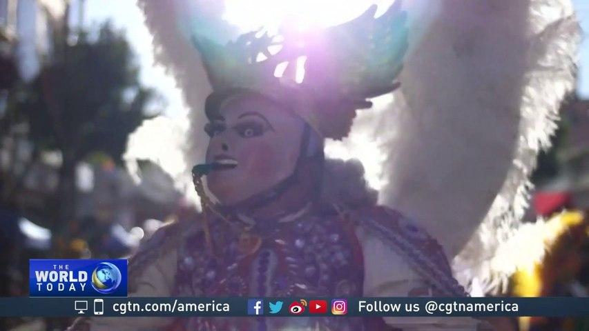 Bolivian Carnival: Devils dance the 'Diablada' in the streets of Oruro