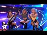 Run the World, GIRLS- Angels INC do Magic on Britain's Got Talent 2019