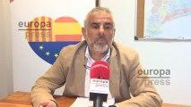 Cs rechaza coaliciones con carácter general como 'España suma'