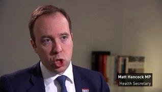 Hancock: NHS is 'well prepared' for coronavirus