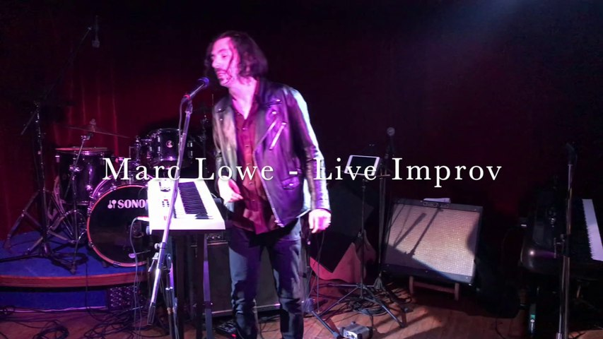 """Marc Lowe - """"What Will Happen"""" Improvisation @ AAC (Tokyo) on 2-1-2020"""