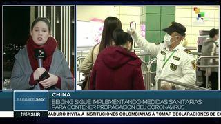 Gob. de China sigue implementando medidas para contener coronavirus