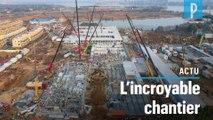 Coronavirus : 2 hôpitaux en dix  jours, le colossal chantier réalisé par la Chine