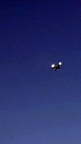 Plane spotted circling above Sheffield