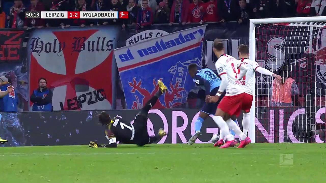 RB Leipzig - Mönchengladbach (2-2) - Maç Özeti - Bundesliga 2019/20
