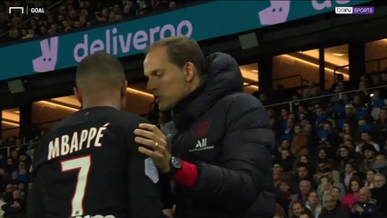 Mbappe fumes at being taken off