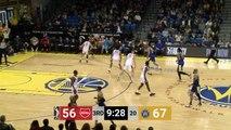 A bigtime dunk by Shaq Buchanan!