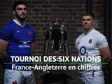 Six Nations - France-Angleterre en chiffres