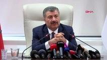 Ankara sağlık bakanı fahrettin koca koronavirüs bilim kurulu toplantısının ardından açıklama...