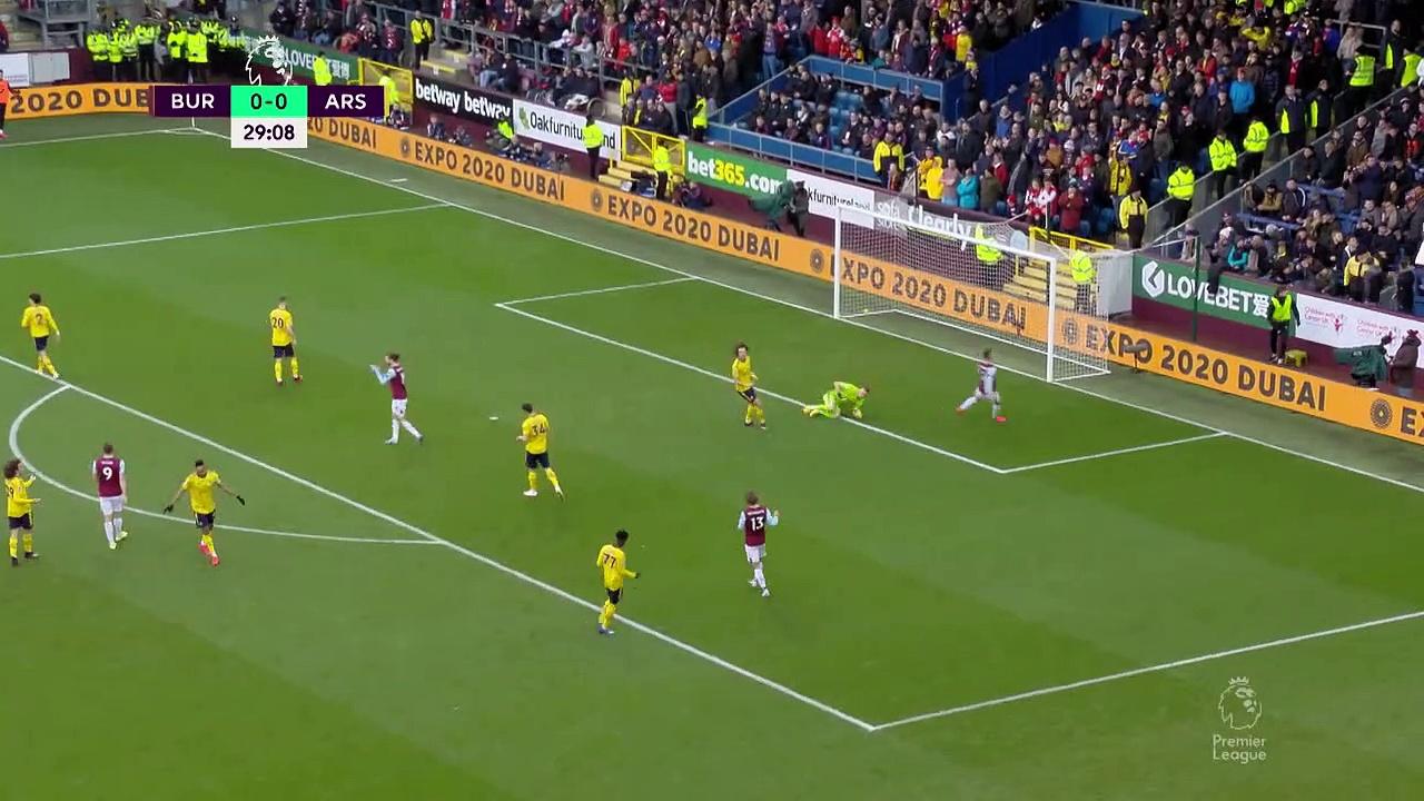 Burnley - Arsenal (0-0) - Maç Özeti - Premier League 2019/20