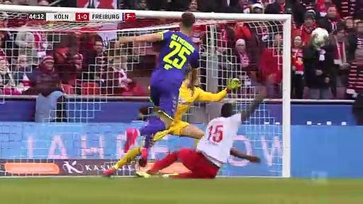 Köln - Freiburg (4-0) - Maç Özeti - Bundesliga 2019/20