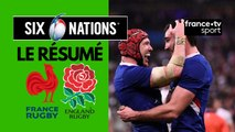 6 Nations : La France remporte le Crunch face à l'Angleterre (24-17)