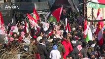 Dozens in Lebanon protest Trump's Middle East plan