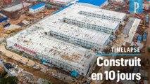 Coronavirus : la construction de l'hôpital de Wuhan en accéléré