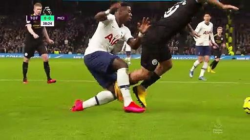 Tottenham - Manchester City (2-0) - Maç Özeti - Premier League 2019/20