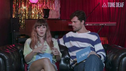 'Oh Wonder' plays Tone Deaf's 'Who's Most Likely To?'