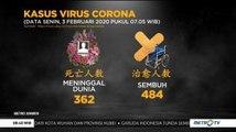 [Update] 362 Orang Meninggal Dunia Akibat Virus Corona
