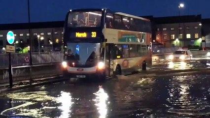 Bourges Boulevard flooding