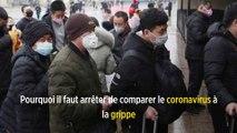 Pourquoi il faut arrêter de comparer le coronavirus à la grippe