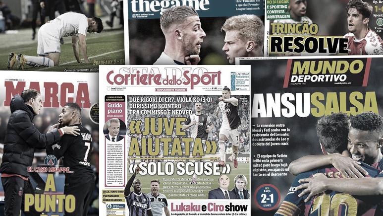 Ansu Fati écrit l'histoire au Barça, l'arbitrage de la Juve fait jaser en Italie