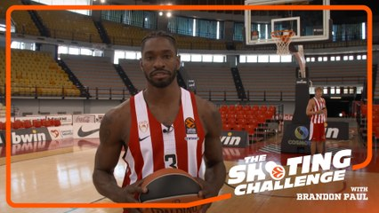 Shooting Challenge: Brandon Paul, Olympiacos