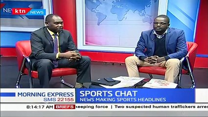 SPORTS CHAT: Kenyan Footballer finishes transfer to England