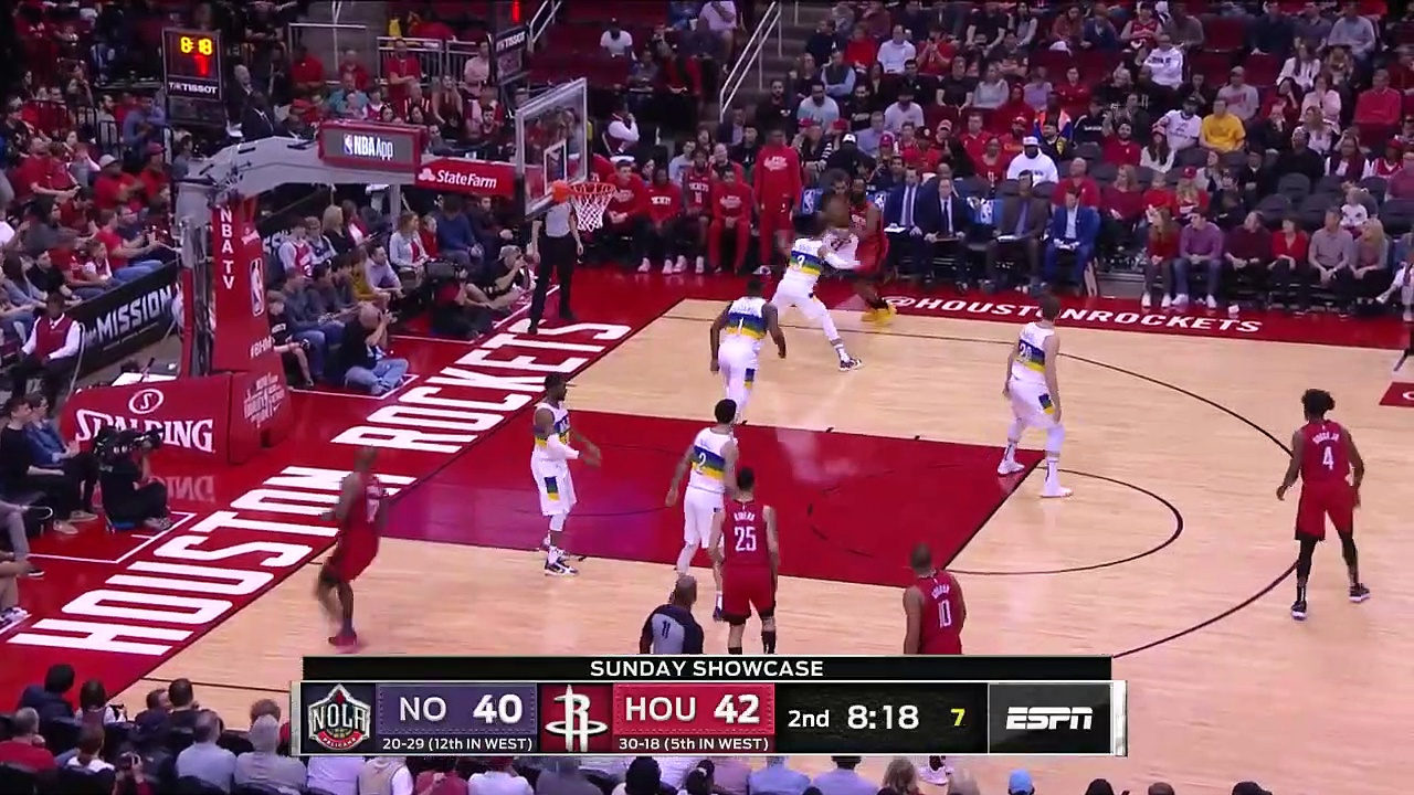 New Orleans Pelicans 109 - 117 Houston Rockets