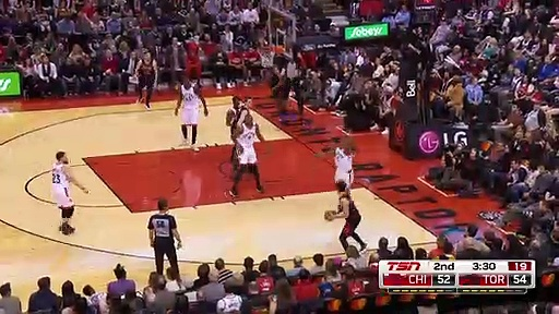 Chicago Bulls 102 - 129 Toronto Raptors