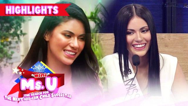 Gazini Ganados visits It's Showtime as a hurado | It's Showtime Mini Miss U