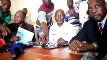 """Abdourahamane Sanoh du FNDC explique aux Nations  Unies la """"gravité de la situation"""" en Guinée"""