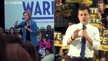 """Présidentielle américaine : le """"caucus"""" de l'Iowa marque le début des primaires démocrates"""