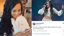 Demi Lovato SHOCKING Prediction About 2020 Super Bowl 10 Years Ago