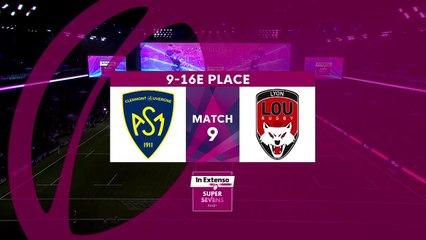 In Extenso Supersevens - Résumé Clermont-Lyon- 31-26 - 9e/16e place - Saison 2019-2020