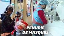 Coronavirus: l'appel à l'aide de la Chine qui manque de masques de protection
