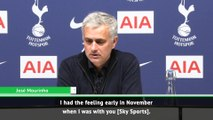 Mourinho 'had the feeling' this was Liverpool's season