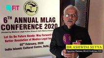 The 'ABCDE' Rule for Doctors | Dr Ashwini Setya at the 6th Annual MLAG Conference 2020
