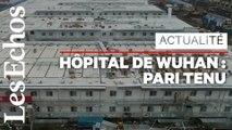 A Wuhan, l'hôpital de tous les records a ouvert ses portes