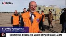 Coronavirus, rimpatriati gli italiani bloccati in Cina a Wuhan: le immagini   Notizie.it