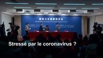 Coronavirus: le gouvernement chinois conseille de pleurer ou faire de l'exercice pour évacuer le stress