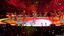 Jennifer Lopez et Shakira ont enflammé la mi-temps du Super Bowl
