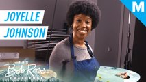 Comedian Joyelle Johnson ('Late Night with Seth Meyers') creates a winter storm — The Bob Ross Challenge