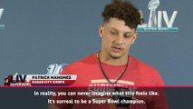 Mahomes reflects on 'surreal' Super Bowl victory