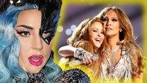 Lady Gaga Reacts To Shakira & Jennifer Lopez Super Bowl Halftime Show